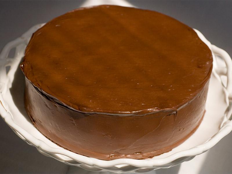 Yellow/Chocolate Cake